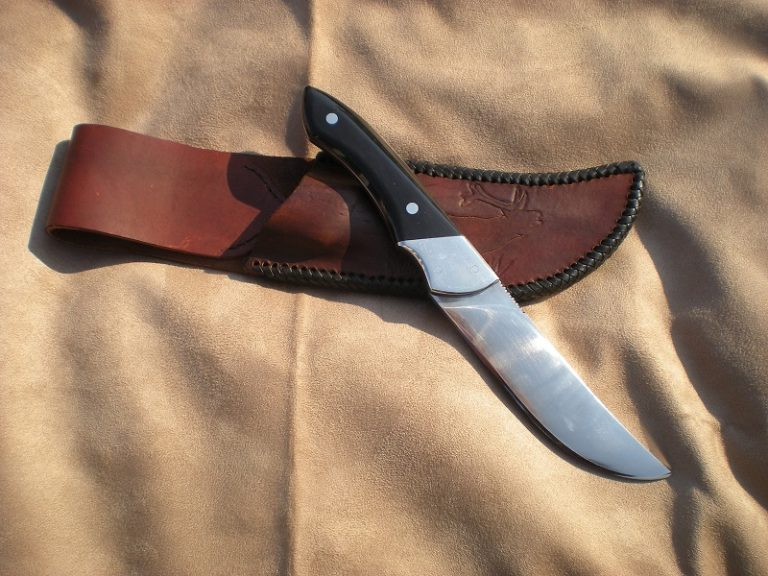 Water Buffalo Knife with Sheath